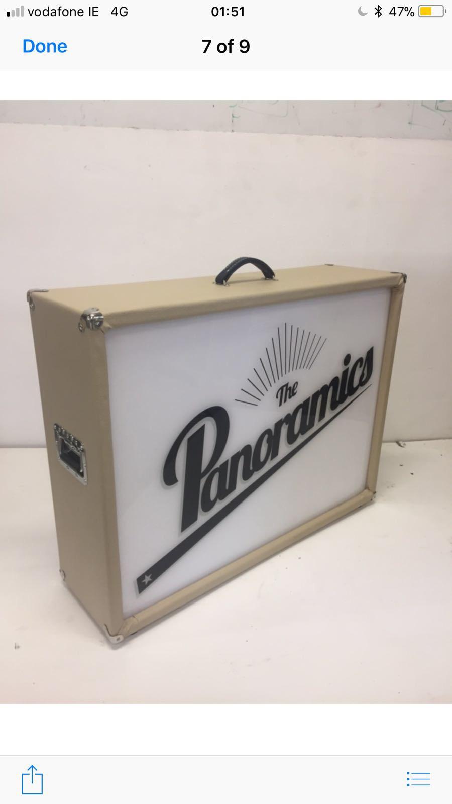The Panoramics wedding band showcase